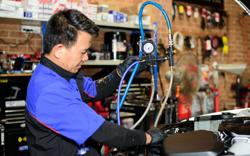 cooling system service